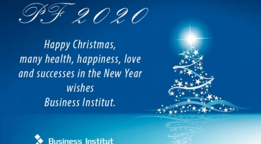 Christmas wishes from Business Institut